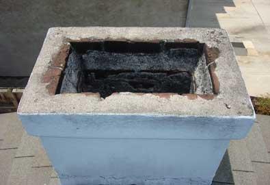 Unlined chimney