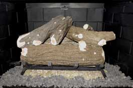 Formation Creation Country Oak gas log set