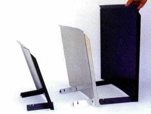 Three heat shields
